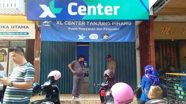 Kantor Xl Center Tanjungpinang Dibobol Maling Dua Brankas Hilang Vision News
